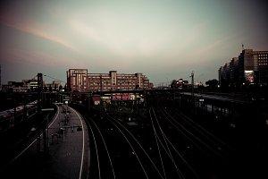 railroad stations hamburg - DE