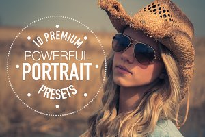 Premium Portrait Lightroom Presets