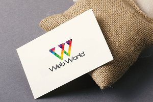 Web World W Logo