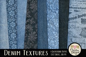 Denim Texture Paper Pack