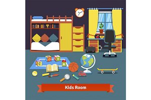 Two kids room