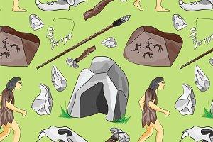 Prehistoric stone age