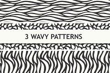 Wavy seamless patterns