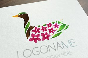 Blooming Duck Logo