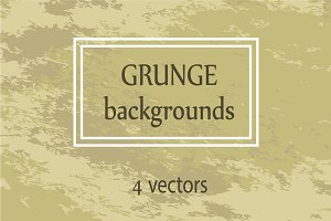 Vector grunge backgrounds set