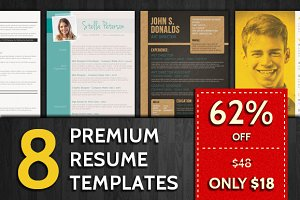 62% Off: Resume Templates Bundle