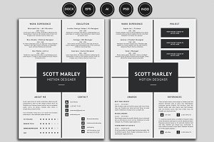 Resume/CV - Scott