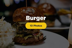 BURGER - 10 Premium Photos