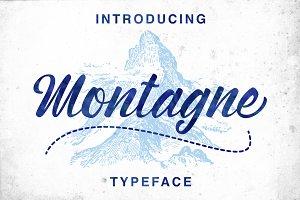 Montagne Typeface