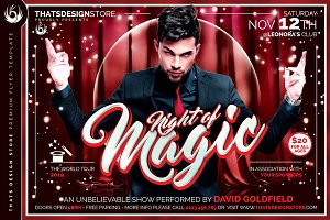 Magic Performer Flyer Template V3