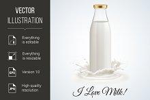 Milk bottle