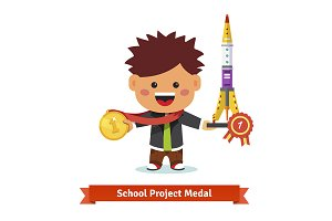 School science project medal
