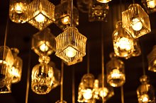 Retro lighting bulb decor