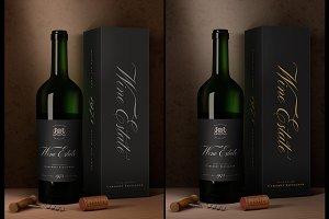 Wine Packaging Mock-Up