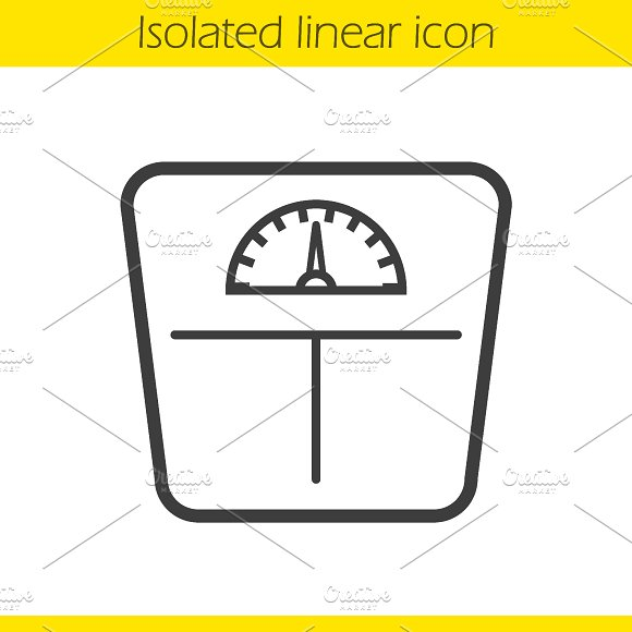 Floor scales icon. Vector - Icons