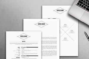 Modern Resume Template / CV Template