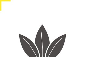 Loose tea leaves icon. Vector
