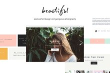 Lola - Blog/Store & Portfolio by  in Bootstrap