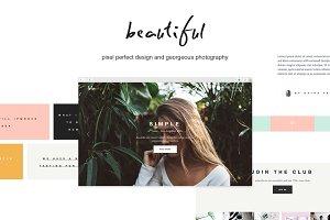 Lola - Blog/Store & Portfolio