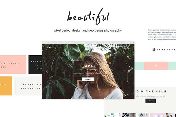 Bootstrap Themes: Dorkoy - Lola - Blog/Store & Portfolio