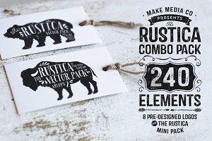 Rustica Combo Pack + Mini Pack