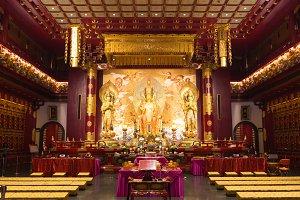 interior of the Buddha
