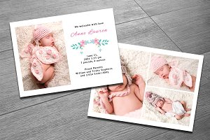 Birth Announcement Template-V12
