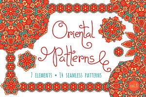 Oriental Patterns - Color Palette 1