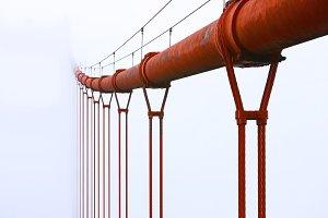 Suspended Golden Gate