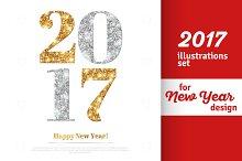 2017 New Year - Set