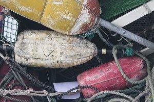 fishing net buoys
