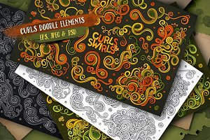 Curls & Swirls Set