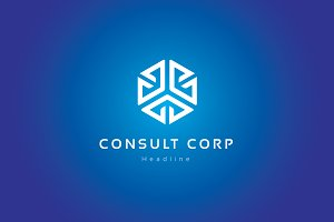 Consult corp logo.