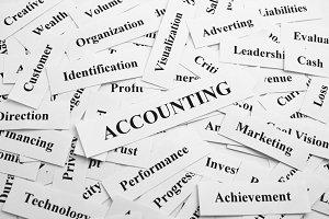Accounting Business Keyword
