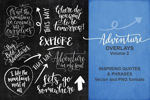 Adventure and Travel Overlays 2