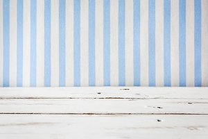 White wooden and stripes background