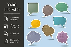 Collection Speech Bubbles