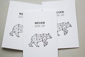 5 postcard designs