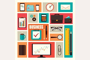 Business Elements (vector)