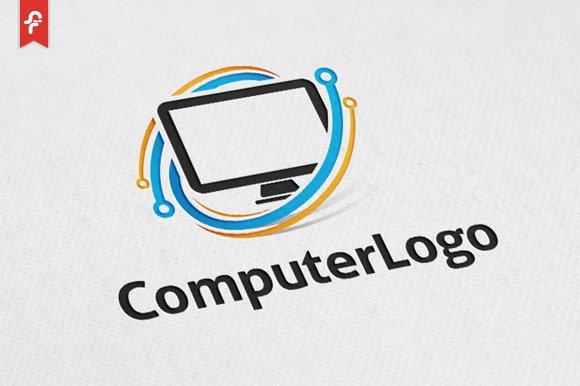 computer logo logo templates creative market