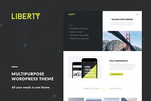 Liberty - Premium WordPress Theme