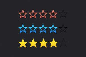 Star Rating Graphics