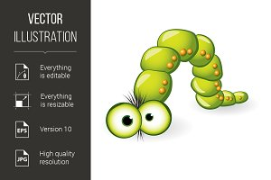 Larva Character