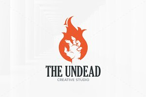 The Undead Logo Template