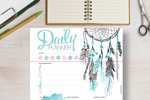 Daily Planner: A5 & A4