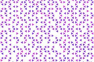 A lot of cute purple triangles