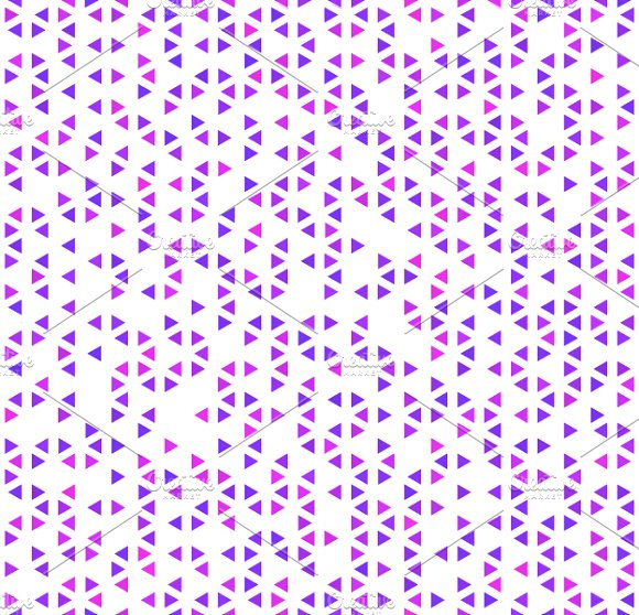 A Lot Of Cute Purple Triangles Graphic Patterns Creative Market Awesome Cute Patterns