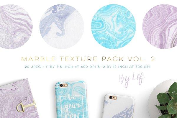 Marbled Paper Textures Digital