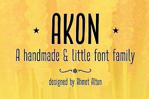 Akon Font Family