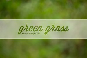 GreenGrass blurred backgrounds